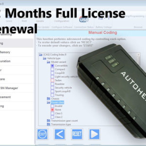 BMW_AUTOHEX_12_months_license_renewal